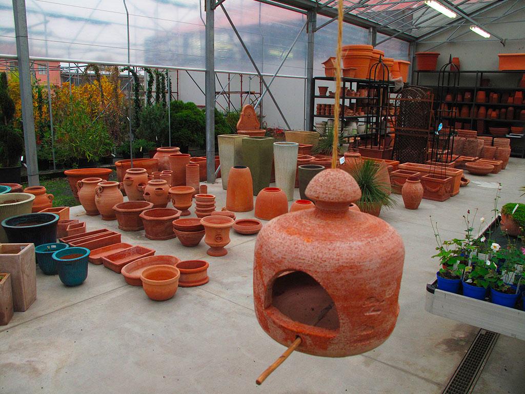 Vasi Da Giardino Colorati compagnia delle piante ornamentali   vasi e terrecotte